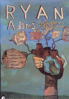 Ryan Adams & The Sweetheart Revolution Poster