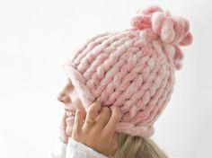 Tutorial fai da te: Come fare un cappello di lana grossa via DaWanda.com