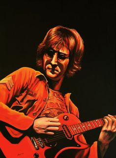 'John Lennon painting' by Paul Meijering on artflakes.com