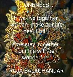 Unity of life...