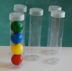 Small Clear plastic tubes with caps Qty 25 use by isakayboutique $24.95 & Clear Plastic Plates 10\