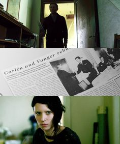 """Rooney Mara in """"The Girl With The Dragon Tattoo"""""""