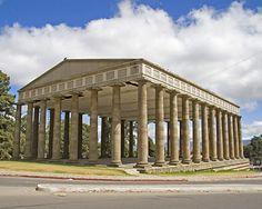 Guatemala. Templo de Minerva Minerva Temple, knowledge, wisdom. Quetzaltenango, Guatemala.
