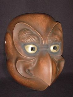We are showing traditional Japanese Noh Masks (Noumen), Devil (Oni) Masks, Kyogen Masks. We have been carving the over 220 historical character masks available for purchase, also we can create and supply any kind of masks you want. Rodin Drawing, Japanese Noh Mask, Oni Mask, Haida Art, Samurai Art, Masks Art, Ancient Artifacts, Japanese Culture, Tribal Art
