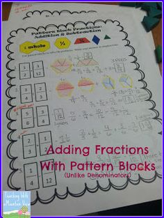 More fractions! Teaching With a Mountain View: Our Latest Fraction Projects! 4th Grade Fractions, Teaching Fractions, Fifth Grade Math, Teaching Math, Maths, Teaching Strategies, Fourth Grade, Third Grade, Teaching Ideas