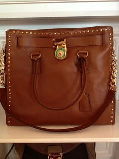 Michael Kors brown leather - classic.