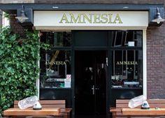 Amnesia Coffeeshop in Amsterdam