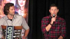 2015 Supernatural Dallas Con Jensen & Jared talk about favorite childhoo...