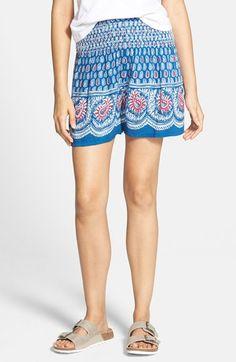 Junior Women's Angie Paisley Print Shorts