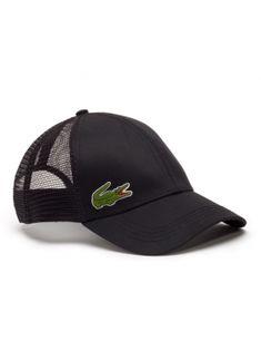910820faaf9fc5 Lacoste pet - Trucker cap - black Lacoste Sport