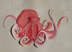 Hey, I found this really awesome Etsy listing at http://www.etsy.com/listing/111372892/red-octopus-jointed-paper-doll