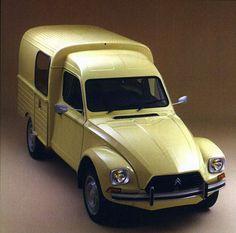 Acadiane Citroën 2CV based light commercial vehicles