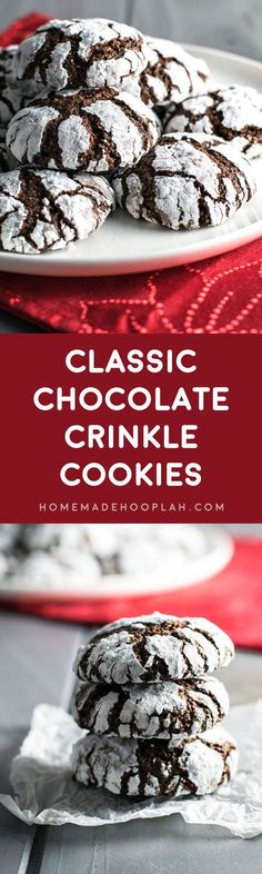 Best of Home and Garden: Classic Chocolate Crinkle Cookies