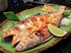 鯃魚一夜干 / grilled fish by noshowerfamily, via Flickr