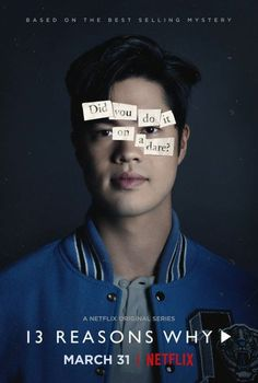 Ross Butler as Zach Dempsey. 13 Reasons Why character poster from season Photo: 13 Reasons Why Trailer, 13 Reasons Why Poster, 13 Reasons Why Reasons, 13 Reasons Why Netflix, Thirteen Reasons Why, Ross Butler 13 Reasons Why, Zach Dempsey 13 Reasons Why, Netflix Original Series, Netflix Series