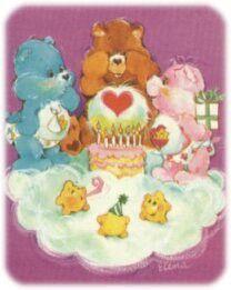 Me recuerda las invitaciones a los cumpleaños cuando estaba pequeña.