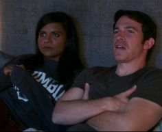Danny and Mindy Chris Messina, Share My Life, The Mindy Project, Mindy Kaling, Hopeless Romantic, Flirting, Favorite Tv Shows, Hilarious, In This Moment