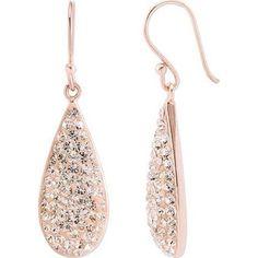 rose gold earrings - Google Search