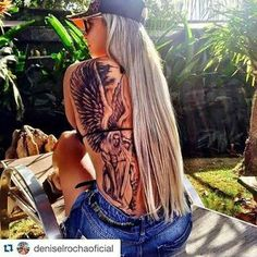 Denise rocha - tattoo anjo da guarda incompleto