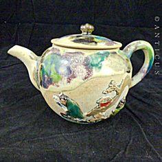 Sumidagawa, Iga Ware Teapot.