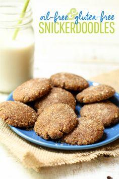 Vegan Chewy Snickerdoodle Recipe | Gluten-Free & Oil-Free
