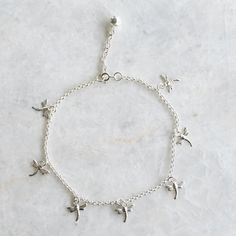 lisaangeljewellery anklet by angel with sterling silver notonthehighstreet initial original lisa com feather product