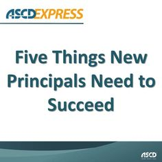 If you're starting your first year as a principal, these tips are just what you need to succeed.