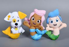 Find More Dolls Information about 2016 Original Bubble Guppies Plush Toy Cartoon Bubble Puppy Molly Gil stuffed doll Sweet dog fish pet shop kids toys Plush Toy,High Quality toy headset,China toy triangle toys Suppliers, Cheap toy hippo from Kids1688 on Aliexpress.com