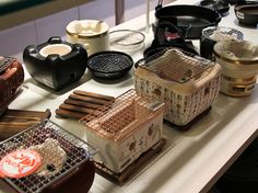 Tabletop Cooking - Konro Grills by KW0326, via Flickr