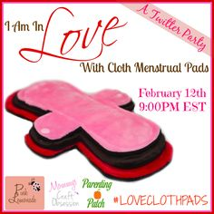 Mommys Craft Obsession: #LOVECLOTHPADS Twitter Party RSVP!
