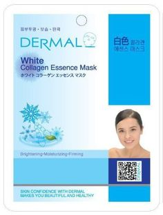 Dermal Korea Collagen Essence Full Face Facial Mask Sheet - White (10 Pack) by Dermal. $10.49. Dermal Korea Collagen Essence Full Face Facial Mask Sheet - White (10 Pack). BRIGHTENING, MOISTURIZING, FIRMING  DERMAL WHITE COLLAGEN ESSENCE MASK MAKES YOUR SKIN RELAX, CLEAR AND MOISTENED Dermal White Collagen Essence Mask is a new essence mask which specially formulates cosmetics to penetrate highly concentrated active ingredients into the skin while keeping air out of the ...