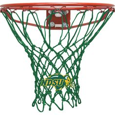 Krazy Netz North Dakota State University Gold Basketball Net - KNL3603