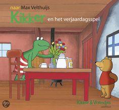 Kikker En Het Verjaardagsspel - naar Max Velthuijs (uitg. Leopold)