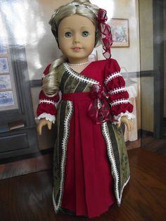 Regency Christmas Dress Caroline Ball Gown 1814 Historical
