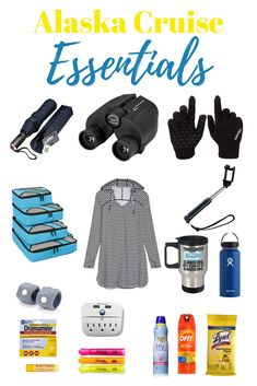 Wondering what to take on an Alaskan cruise? We've listed the top 20 Alaska cruise essentials to help you plan what to take on a cruise to Alaska. Packing For Alaska, Alaska Cruise Tips, Packing List For Cruise, Alaska Travel, Cruise Travel, Cruise Vacation, Alaska Trip, Vacation Packing, Packing Tips