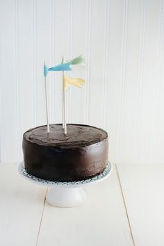 Chocolate Crème Fraîche Cake