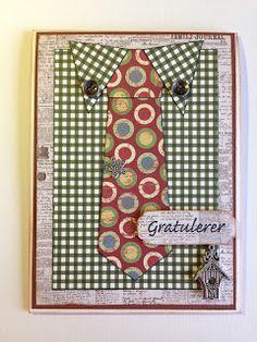 Randis hobbyverden: Bursdagskort til min stefar
