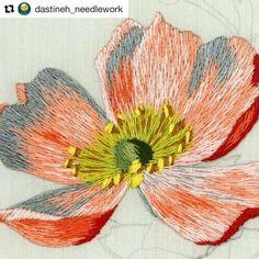 @dastineh_needlework #embroidery #bordado #broderie #ricamo #handembroidery #needlework #needleworksociety
