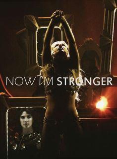 Britney Spears lyrics stronger