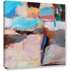 ArtWall Allan Friedlander Nothing Of Everything Gallery-wrapped Canvas, Size: 18 x 18, Blue