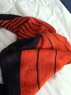 Ravelry: Terby's Orange stripes