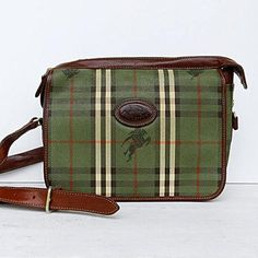 Have you been thinking about burberry handbags 2018 Read about Burberry Sale, Burberry Plaid, S Monogram, Burberry Handbags, Green Bag, Fashion Company, Crossbody Bag, Satchel Bag, White Leather