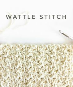 Pattern The texture on this stitch in real life is really cool. Not sure my photo can quite capture it,…