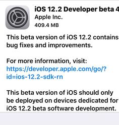 A few minutes ago Apple released iOS Beta version Apple Beta, Mac App Store, New Ios, Apple Inc, Software Development, Blog, Usa, Blogging, U.s. States