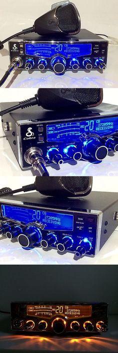 CB Radios: Cobra 29 Lx Cb - Blue Nitro Led Rings + Performance Tuned + Receive Enhanced -> BUY IT NOW ONLY: $239 on eBay!
