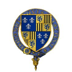 File:Coat of Arms of Sir Thomas Burgh, KG.png