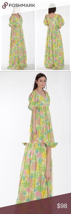 70s fairytale dress .... Vintage  Dresses Maxi