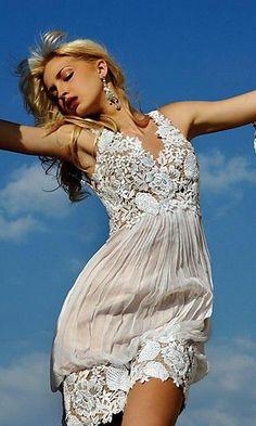 Vestidos de Crochê fazem seu estilo?. Vejam 25 lindos modelos. | Tudo Para Mim