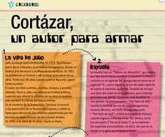 Cortázar para armar, de la revista Conectados.
