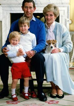 In 1984, she writes, Prince William couldn't stop kissing his newborn brother Prince Harry